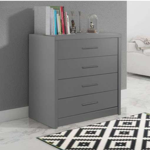 Chest of Drawers GENEWA 1 Graphite