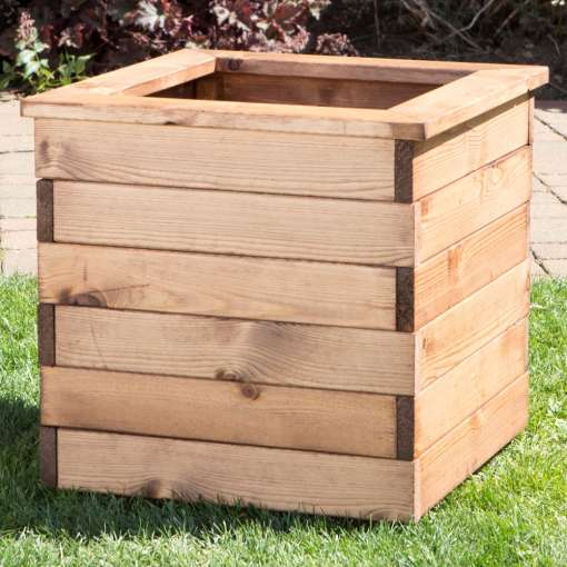 Large square garden planter