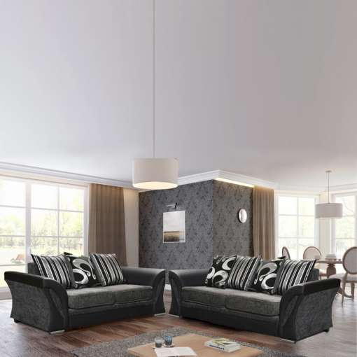 Sofa Set Shannon 2+3 Grey
